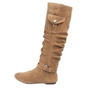 BCBGeneration Shoes - BCBGeneration Bianco Slouchy Boot Size 9.5